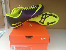 NIKE SHOES SHOES FOOTBALL NIKE MERCURIAL VICTORY AG CLEAT ELECTRO PURPLE HI VIS