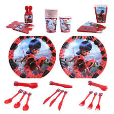 Miraculous Ladybug Kids Baby Birthday Party Decoration Set Party Supplies Pack #