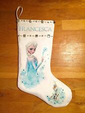 Frozen Christmas Stocking Personalized - Elsa, Anna and Olaf Christmas Stocking