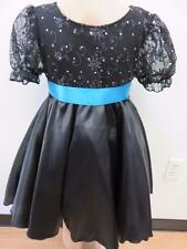 Dance Costume XS & M Child Black Ballet Lyrical PRETTY Solo Competition Pageant