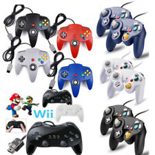 Wired Game Classic Controller For Nintendo GameCube NGC Wii / Wii U/ N64/ SNES