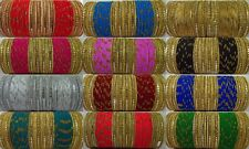 Indian Traditional Bollywood Bridal Wedding 48PS Ethnic Fashion Jewelry Bangles