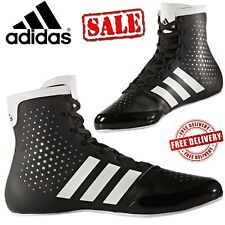Adidas Mens KO Legend 16.2 Boxing Boots Sports Shoes Trainers Black UK Size 9.5
