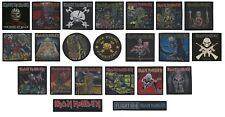 Iron Maiden Patches - Woven Sew On Officially Licensed