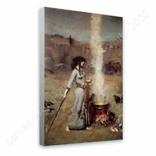 CANVAS (Rolled) The Magic Circle Waterhouse Canvas For Home Decor Art