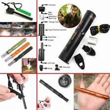Fire Starter Lighter Magnesium Flint Stone Fishing Camping Hunting Survival Tool