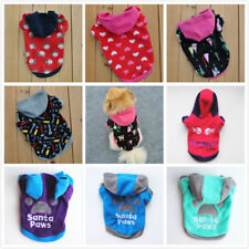 Pet Dog Puppy Vest Jacket Coat Dog Costume Spring Winter Warm Clothing Apparel