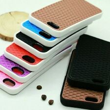 Waffle Phone Case Design Soft Rubber Silicone Shoe Housing Mobile Soleful Cover