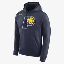 Nike INDIANA PACERS MEN'S FLEECE NBA HOODIE College Navy- Size S, M, L Or XL