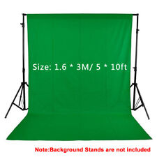 Studio Photography White Green Black Backdrop Background Photo Screen 5x10 Stand