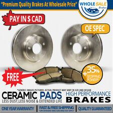 Rear Rotors + Ceramic Pads Fit-2012 Land Rover Range Rover Sport