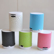 LED Portable Mini colorful Speakers Wireless Hands Free Speaker With TF Card USB