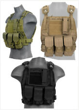 Airsoft Lancer Tactical Light Weight Molle Plate Carrier Vest