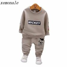 Spring Autumn Baby Boys Clothes Full Sleeve T-shirt And Pants 2pcs Cotton Suits