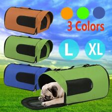 Pet Carrier Dog Cat Soft Crate Cage Portable Kennel Foldable Travel L XL BG