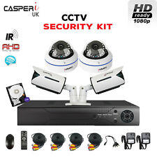1080p Dome/Bullet IR Cameras 4CH CCTV DVR High Resolution complete Security kit