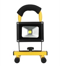 10W LED Rechargeable Flood Light Emergency Work Security Lamp Camping Fishing