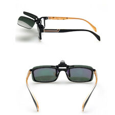 Polarized Day Night Vision Flip-up Clip-on Lens Driving Glasses Sunglasses Cute