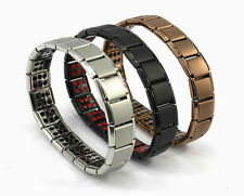 Titanium Bracelet Power Nano Energy Germanium Magnetic Balance Ion Healthy 120