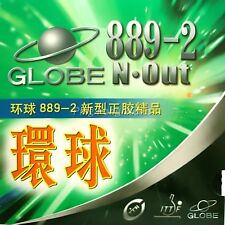 Globe 889-2 Rubber with Japan Sponge Pips Out Table Tennis Rubber Short