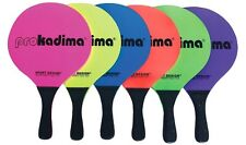 1 Pair Hot Pro Kadima Beach Game Paddles Hot Neon Colors Pink/Green/Lime New