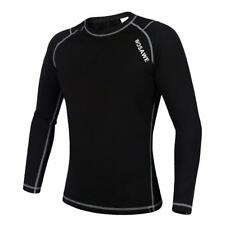 Cycling Long Sleeve Jersey Outdoor Sport Clothing Cycling Jersey Black White