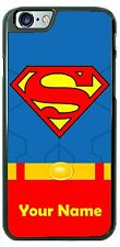 Superman Classic Uniform Phone Case Cover for iPhone Samsung LG iPod with Name!