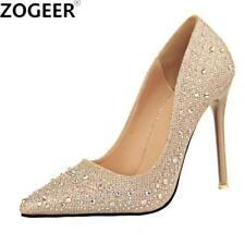 New 2017 Spring Autumn Women Pumps Sexy Black Gold Silver High Heels Shoes