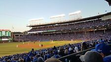 2 Chicago Cubs vs Chicago White Sox 5/11/2018 Wrigley Field