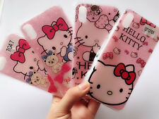 Iphone X or 7 / Plus Soft Silicone Gel Shine Hello Kitty Case Protector Cover