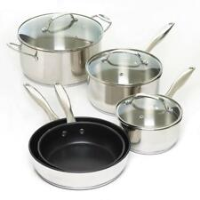 8 Pc. Stainless Steel Cookware Set