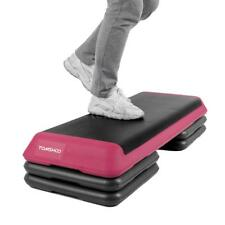 42.5'' Fitness Aerobic Step Platform Stepper Exercise Health w/Risers-Mom's Gift