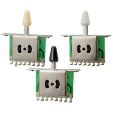 3 Way Pickup Switch w/ Knob for Fender Stratocaster Electric Guitar Parts