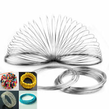 100 Loops Wholesale Memory Wire for Bracelet Bangle Cuff Diameter 60mm Free Ship