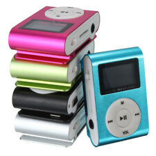 Mini USB Clip MP3 Player LCD Screen Support 32GB Micro SD TF Card -Free Shipping