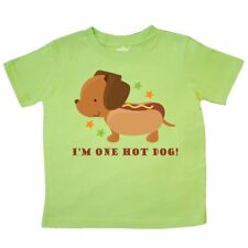 Inktastic Dachshund Hot Dog Funny Toddler T-Shirt Wiener Humor Dogs Pets Animals