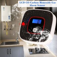 LCD CO Carbon Monoxide Gas Alarm Sensor Poisoning Smoke Tester Detector Monitor