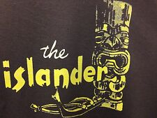 Tiki Bar Vintage Reproduction Islander Restaurant Los Angeles Hooded Sweat Shirt