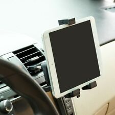 Car Mount AC Air Vent Holder Rotating Cradle Swivel Dock Black A4W for Tablets