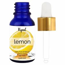 Lemon Essential Oil 100% Pure Natural Therapeutic Grade Free Shipping .