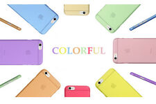 For Apple iPhone Ultra-thin 0.3mm Slim Silicone Hard Back Case Cover Skin