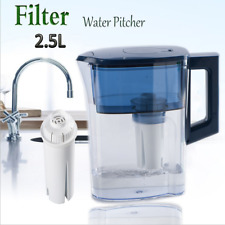 Tap Drinking Water Filter Cup Water Pitcher Filtration System Jug 2.5L Filter