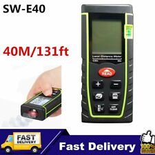 40m Digital Laser Distance Meter Measurer Area Volume Range Finder Measure AU