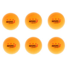 6 Pieces 3 Star 40mm Table Tennis Balls Practice Tournament Ping Pong Balls