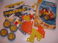 Meccano 6104 Build Play Flexible Construction Building Parts 114 pcs Set