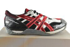 Asics Cyber High Jump Bejing Fire Red Black High Jump Trainers Spikes Shoe