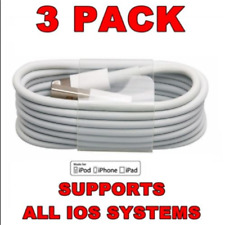 Lightning Sync USB Charging Data Cable for Apple iPod iPad iPhone 5 6 s 7 8 Plus