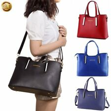 Lady Fashion PU Leather Handbag Shoulder Messenger Bag Hobbo Satchel Zipper Tote
