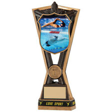 Swimming trophy Award in 6 Sizes with FREE Engraving up to 30 Letters