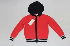 BNWT SEED BOYS KNIT COTTON HOODIE ZIP TOP SIZE 2-3.8-9.9-10 RRP$49.95